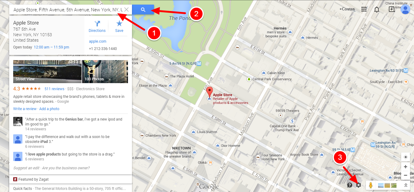 Add a Google Map to a Joomla Template 1