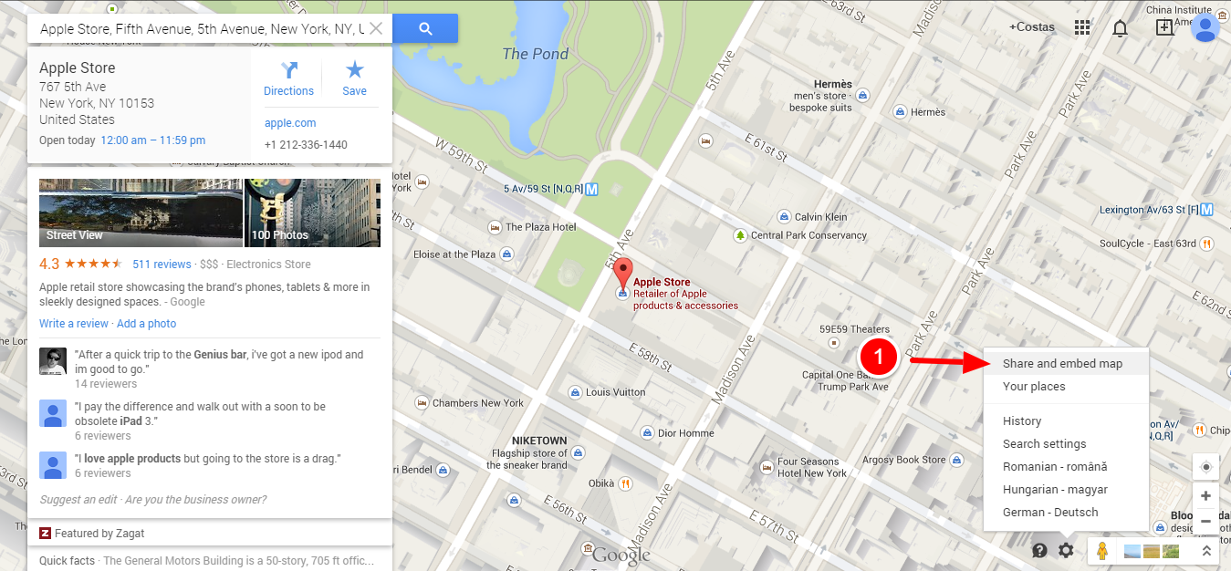 Add a Google Map to a Joomla Template 2