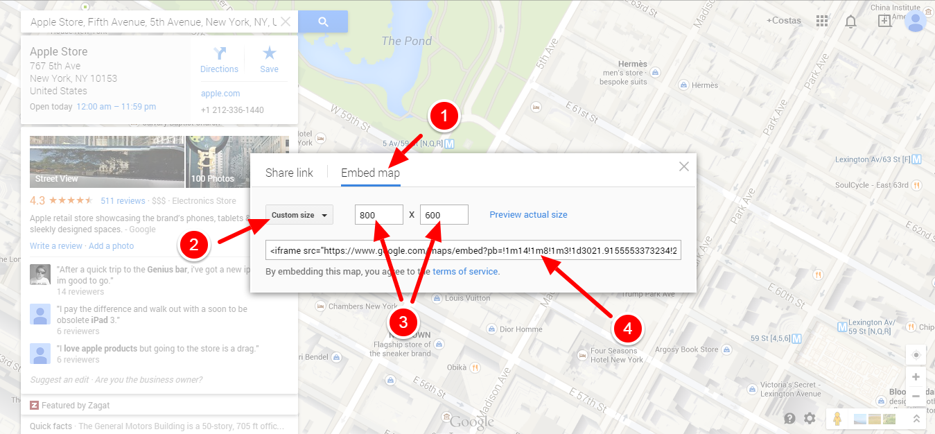 Add a Google Map to a Joomla Template 3
