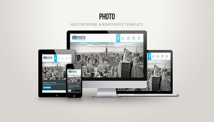 Photo - Free Twitter Bootstrap Template